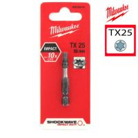 Биты для шуруповерта TX25 Shockwave MILWAUKEE 4932352444