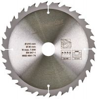 Пильный диск CircS WTS 210x30x24Z MILWAUKEE 4932464174