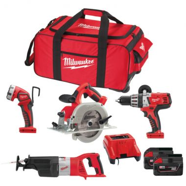 Набор MILWAUKEE HD28 Pack B-502В 4933448546 ― MILWAUKEE