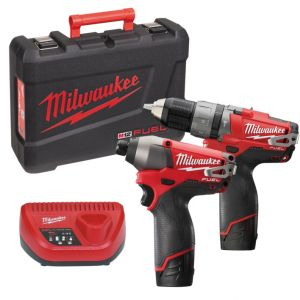 Набор MILWAUKEE M12 PP2A-202C 4933440900 ― MILWAUKEE
