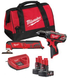 Набор MILWAUKEE M12 ВPP2D-402B 4933441250 ― MILWAUKEE