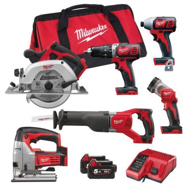 Набор MILWAUKEE M18 PP6D-502B 4933451039 ― MILWAUKEE