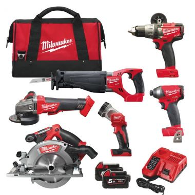 Набор MILWAUKEE M18 FUEL FPP6A-502B 4933451243 ― MILWAUKEE